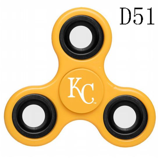 MLB Kansas City Royals 3-Way Fidget Spinner-D51