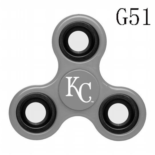 MLB Kansas City Royals 3-Way Fidget Spinner-G51