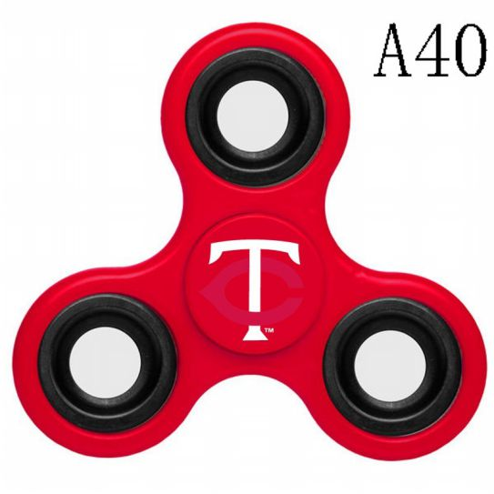 MLB Minnesota Twins 3-Way Fidget Spinner-A40