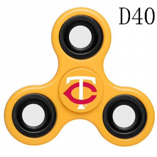 MLB Minnesota Twins 3-Way Fidget Spinner-D40