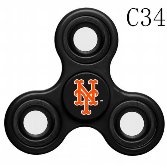 MLB New York Mets 3-Way Fidget Spinner-C34