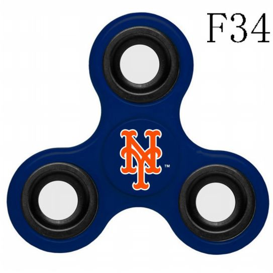 MLB New York Mets 3-Way Fidget Spinner-F34