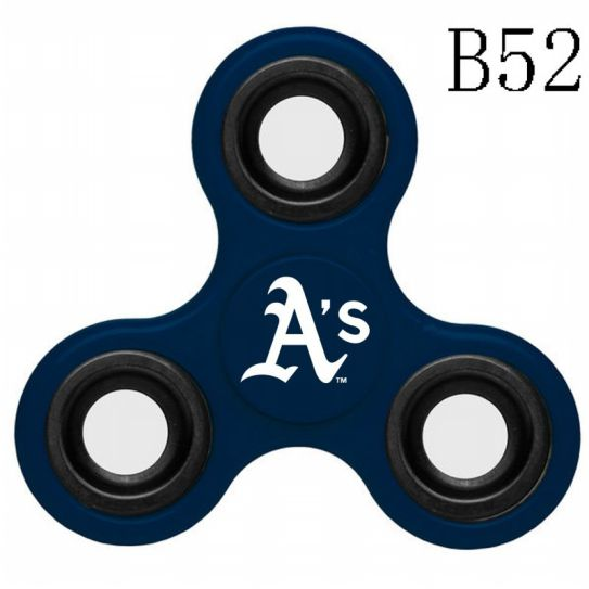 MLB Oakland Athletics 3-Way Fidget Spinner-B52