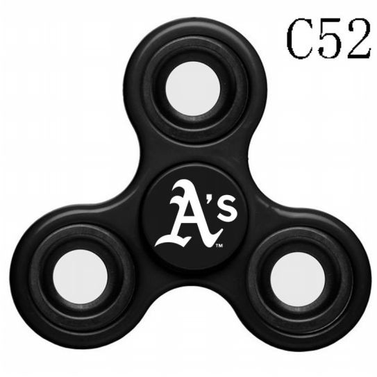 MLB Oakland Athletics 3-Way Fidget Spinner-C52