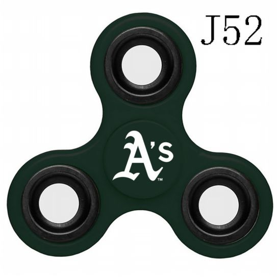 MLB Oakland Athletics 3-Way Fidget Spinner-J52