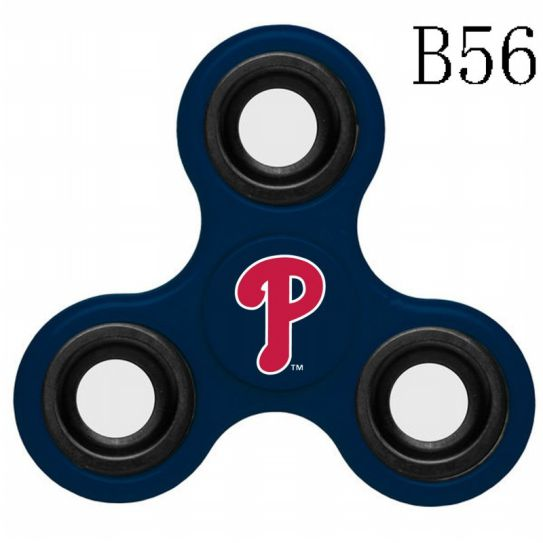 MLB Philadelphia Phillies 3-Way Fidget Spinner-B56