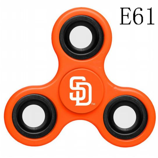 MLB San Diego Padres 3-Way Fidget Spinner-E61