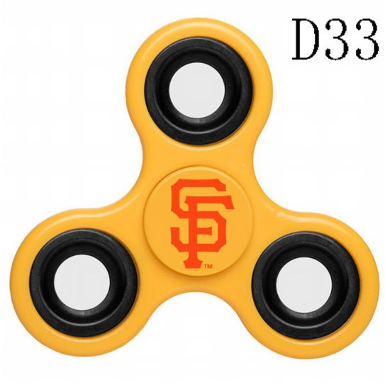 MLB San Francisco Giants 3-Way Fidget Spinner-D33