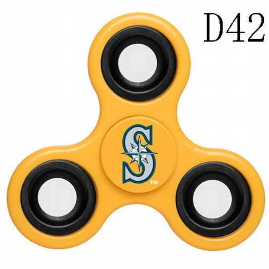 MLB Seattle Mariners 3-Way Fidget Spinner-D42