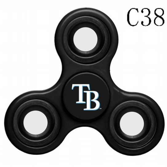 MLB Tampa Bay Rays 3-Way Fidget Spinner-C38