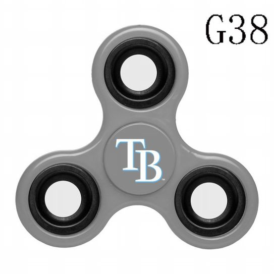 MLB Tampa Bay Rays 3-Way Fidget Spinner-G38
