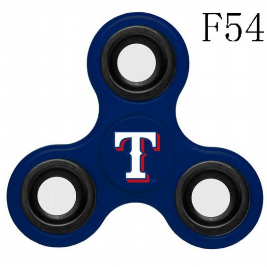MLB Texas Rangers 3-Way Fidget Spinner-F54