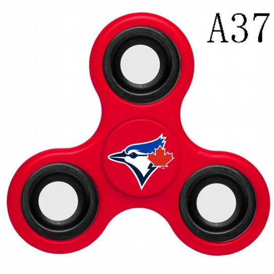 MLB Toronto Blue Jays 3-Way Fidget Spinner-A37