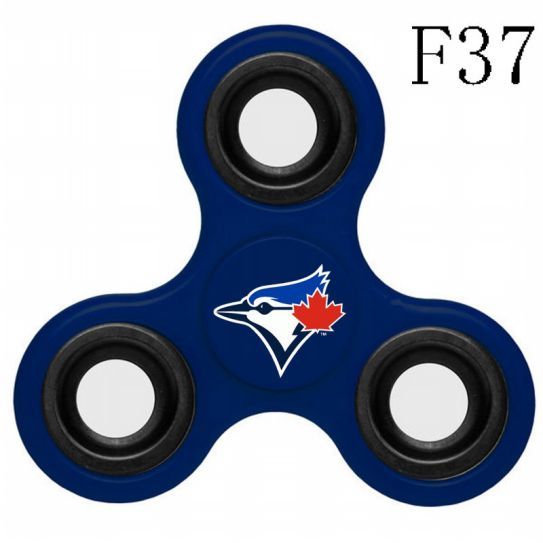 MLB Toronto Blue Jays 3-Way Fidget Spinner-F37