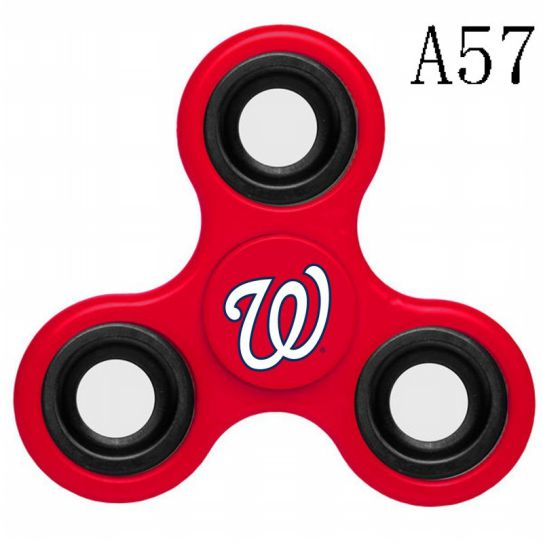 MLB Washington Nationals 3-Way Fidget Spinner-A57
