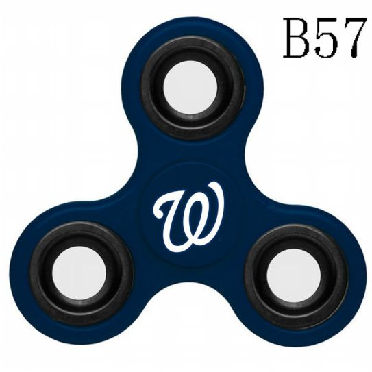 MLB Washington Nationals 3-Way Fidget Spinner-B57