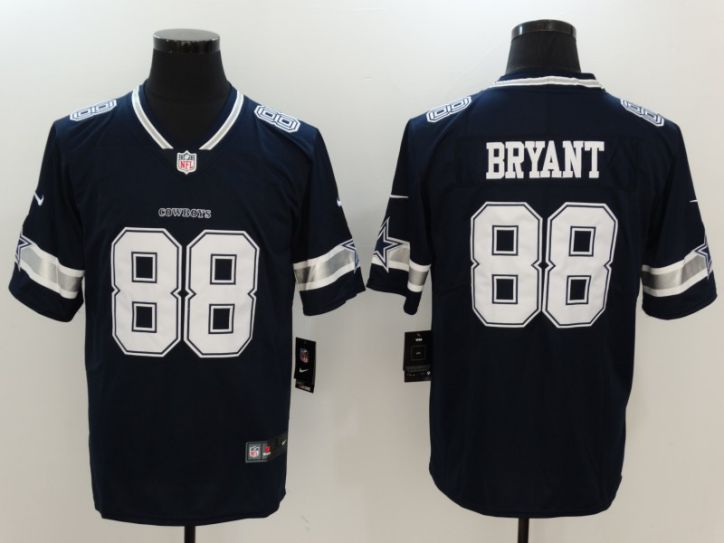 Men Dallas Cowboys 88 Bryant Blue Nike Vapor Untouchable Limited NFL Jerseys