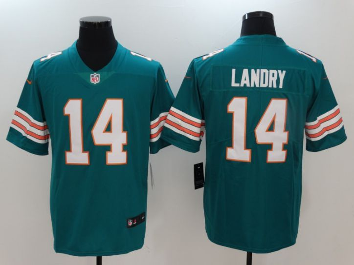 Men Miami Dolphins 14 Landry Green Nike Vapor Untouchable Limited NFL Jerseys