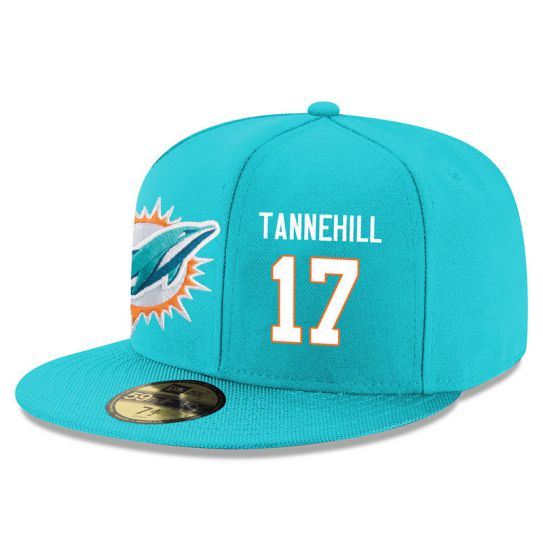 Miami Dolphins 17 Tannehill Green NFL Hat