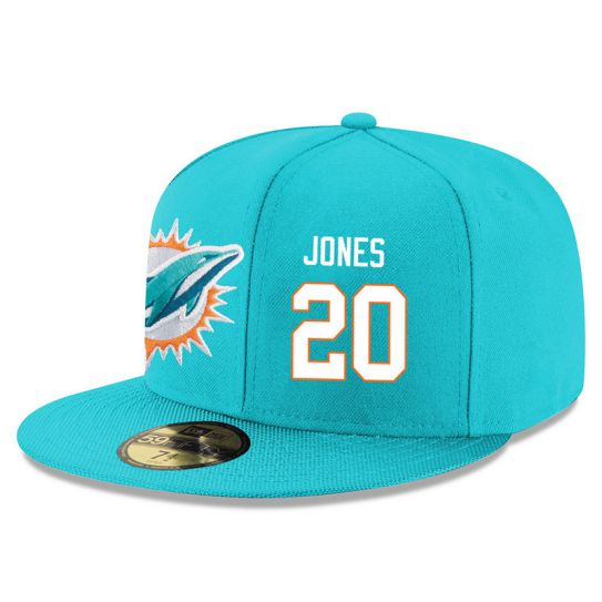 Miami Dolphins 20 Jones Green NFL Hat