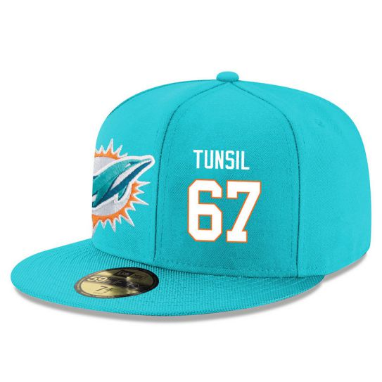 Miami Dolphins 67 Tunsil Green NFL Hat