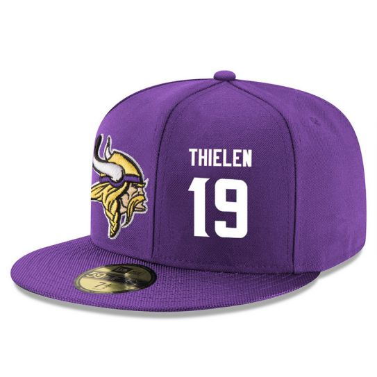 Minnesota Vikings 19 Thielen NFL Hat