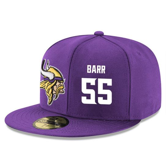 Minnesota Vikings 55 Barr NFL Hat