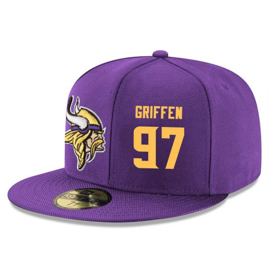 Minnesota Vikings 97 Griffen Purple NFL Hat
