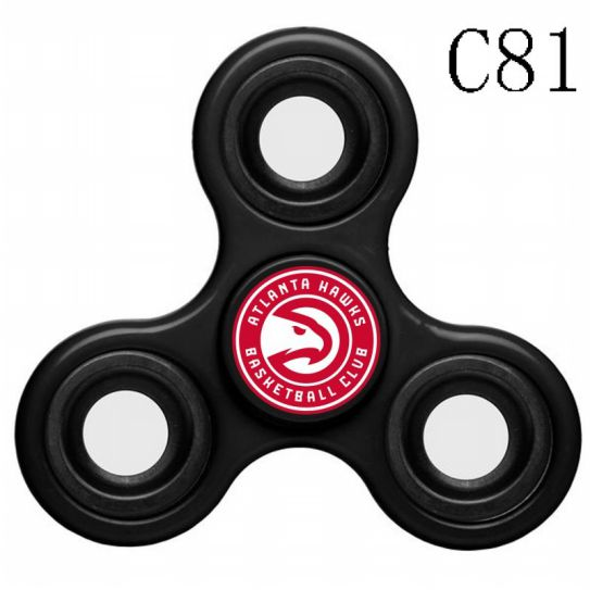 NBA Atlanta Hawks 3-Way Fidget Spinner C81
