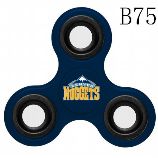 NBA Denver Nuggets 3-Way Fidget Spinner B75