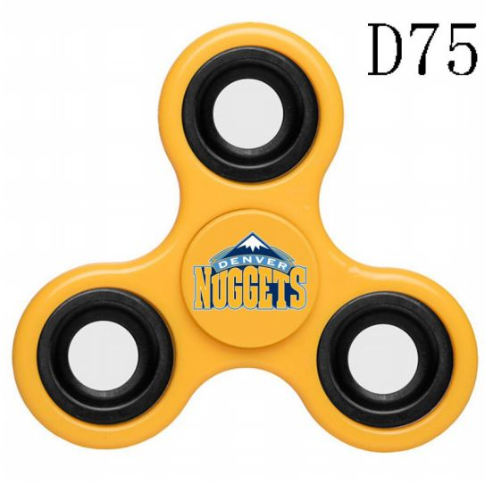 NBA Denver Nuggets 3-Way Fidget Spinner D75