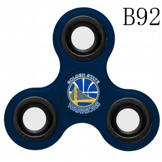 NBA Golden State Warriors 3-Way Fidget Spinner B92