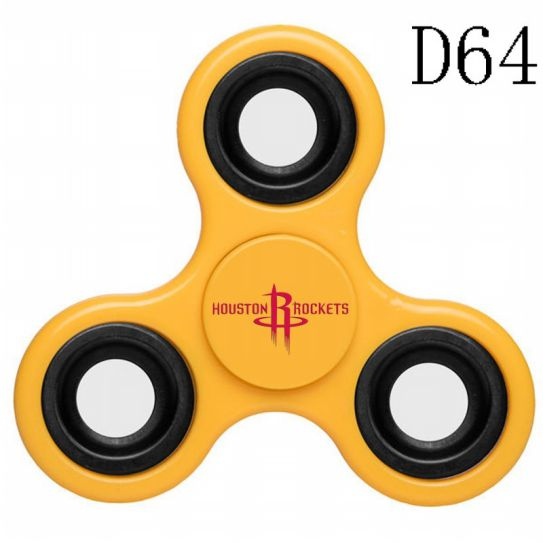 NBA Houston Rockets 3-Way Fidget Spinner D64