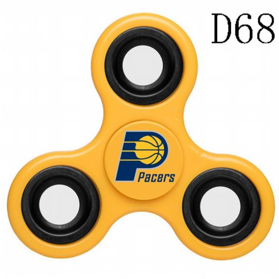 NBA Indiana Pacers 3-Way Fidget Spinner D68