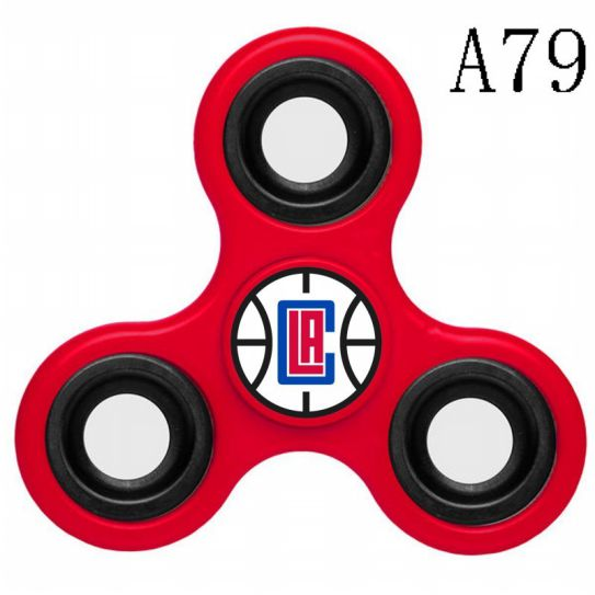 NBA Los Angeles Clippers 3-Way Fidget Spinner A79