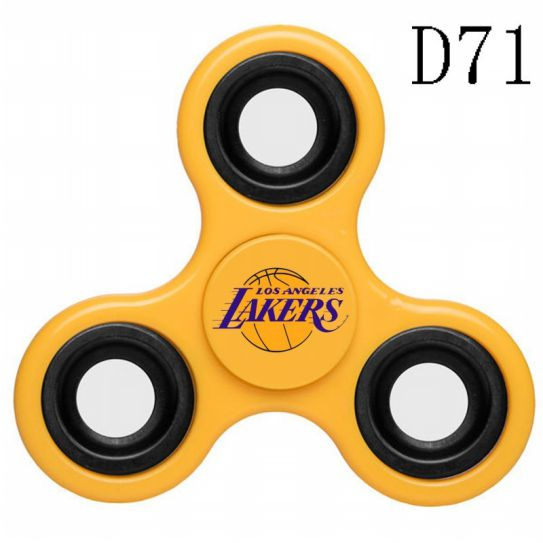 NBA Los Angeles Lakers 3-Way Fidget Spinner D71