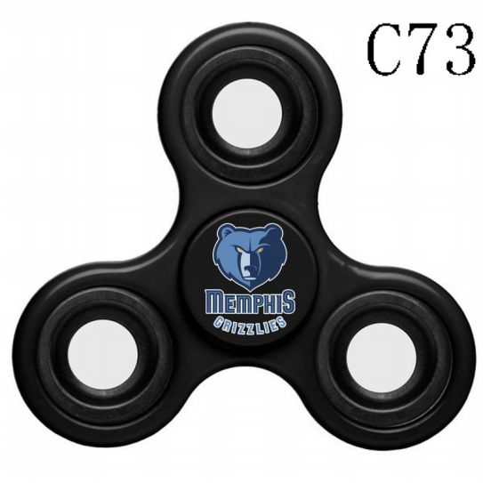 NBA Memphis Grizzlies 3-Way Fidget Spinner C73