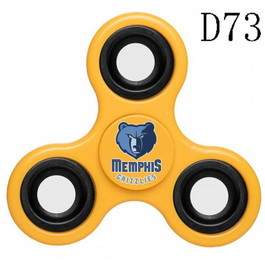 NBA Memphis Grizzlies 3-Way Fidget Spinner D73