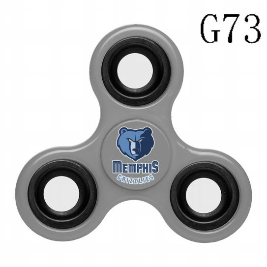 NBA Memphis Grizzlies 3-Way Fidget Spinner G73