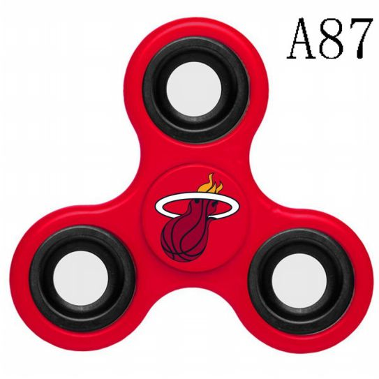 NBA Miami Heat 3-Way Fidget Spinner A87