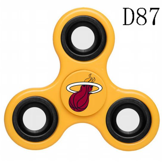 NBA Miami Heat 3-Way Fidget Spinner D87