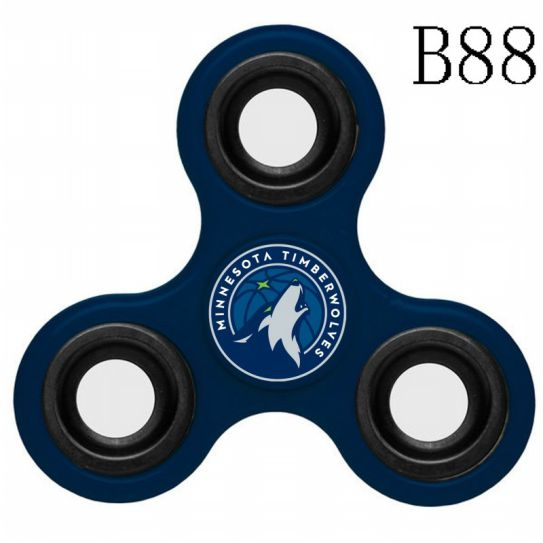 NBA Minnesota Timberwolves 3-Way Fidget Spinner B88