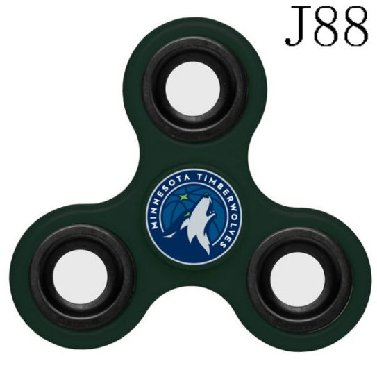 NBA Minnesota Timberwolves 3-Way Fidget Spinner J88