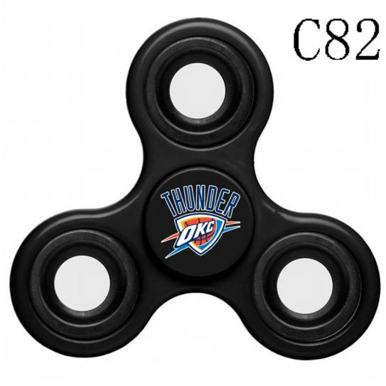 NBA Oklahoma City Thunder 3-Way Fidget Spinner C82
