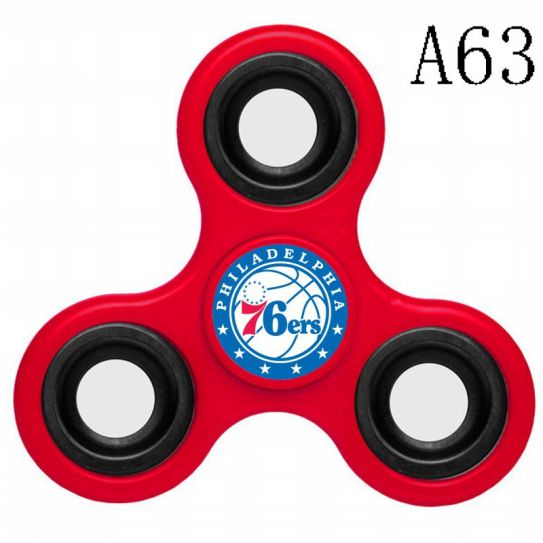 NBA Philadelphia 76ers 3-Way Fidget Spinner A63