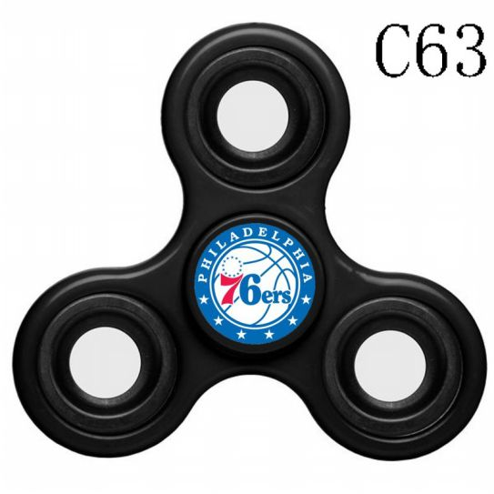 NBA Philadelphia 76ers 3-Way Fidget Spinner C63