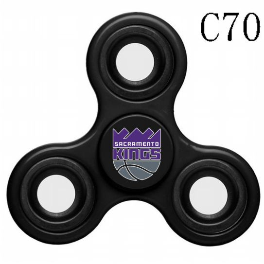 NBA Sacramento Kings 3-Way Fidget Spinner C70