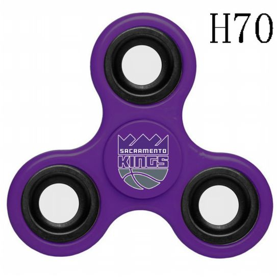 NBA Sacramento Kings 3-Way Fidget Spinner H70