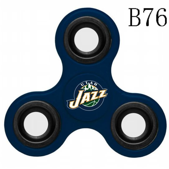 NBA Utah Jazz 3-Way Fidget Spinner B76