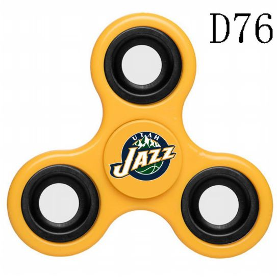 NBA Utah Jazz 3-Way Fidget Spinner D76